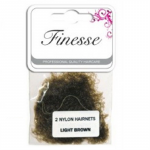 Finesse Hairnets - Dark Brown