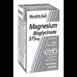 HEALTHAID multivitamin & mineral supplements tablets magnesium bisglycinate 375mg 60