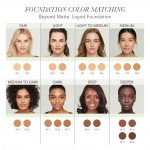 Jane Iredale Beyond Matte™ Liquid Foundation - M18 - deeper rich chocolate brown with neutral undertones