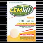 LEMLIFT chewable tablets orange 20