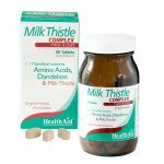 Healthaid herbal tablets milk thistle complex   60 pack