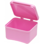 DENTURE BOWL - HINGED LID
