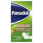 PANADOL ACTIFAST SOLUBLE TABLETS 24