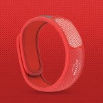 Para'Kito essential Oil Diffusion Red Wristband