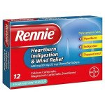 Rennie 3 in 1 tablets 12 pack