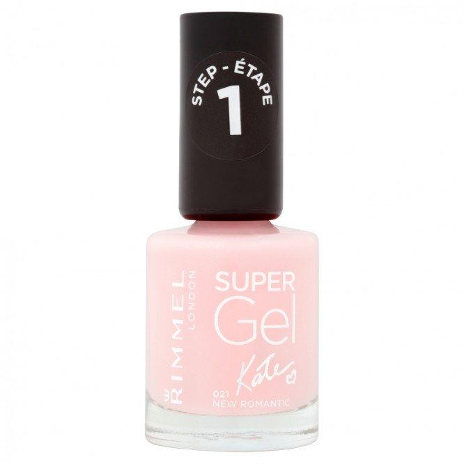 Rimmel nail care nail polish super gel new romantic