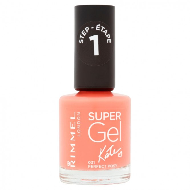 Rimmel nail care nail polish super gel perfect posy
