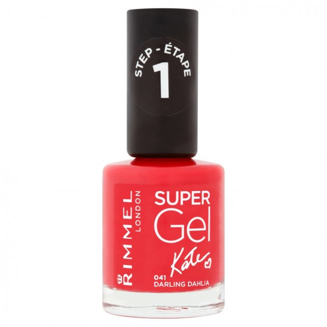 Rimmel nail care nail polish super gel darling dahlia