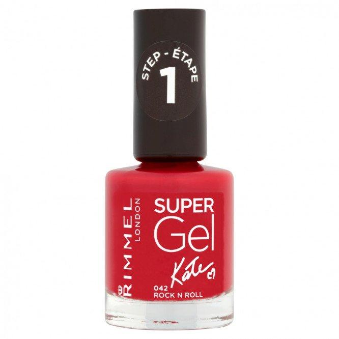 Rimmel nail care nail polish super gel rock n roll