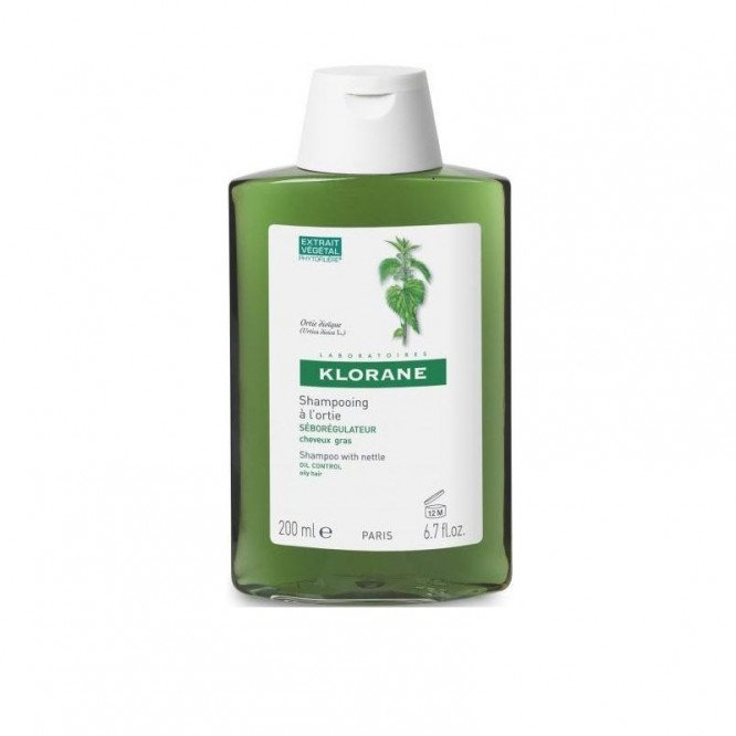 Klorane shampoo with nettle 200ml