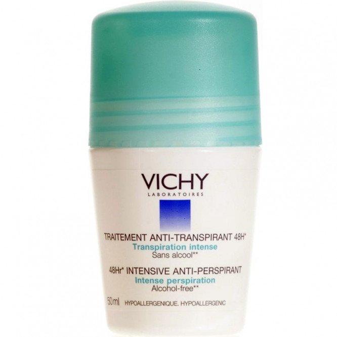 Vichy antiperspirant deodorant roll-on 48 hours 50ml