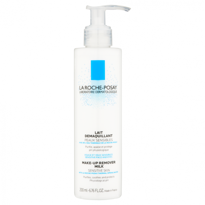 La Roche Possay SENSITIVE SKIN CLEANSING MILK 200ML