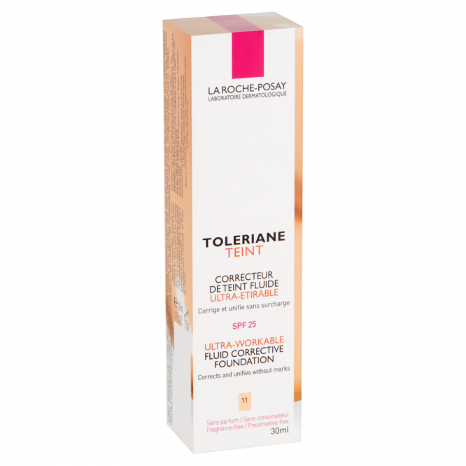 La Roche Possay TOLERIANE FOUNDATION FLUID 11 BEIGE 30ML