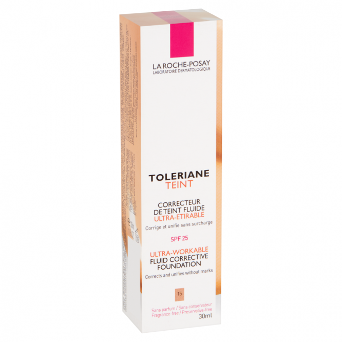 La Roche Possay TOLERIANE FOUNDATION FLUID 15 GOLD 30ML