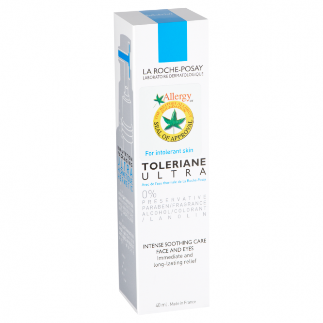 La Roche Possay TOLERIANE ULTRA ALLERGY UK STICKER 40ML