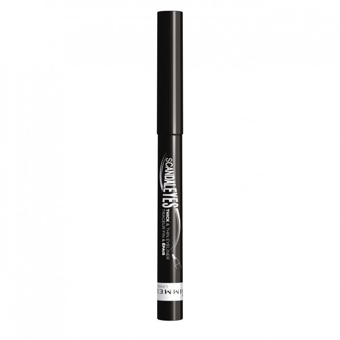 Rimmel eye make-up eyeliner scandaleyes thick'n thin black