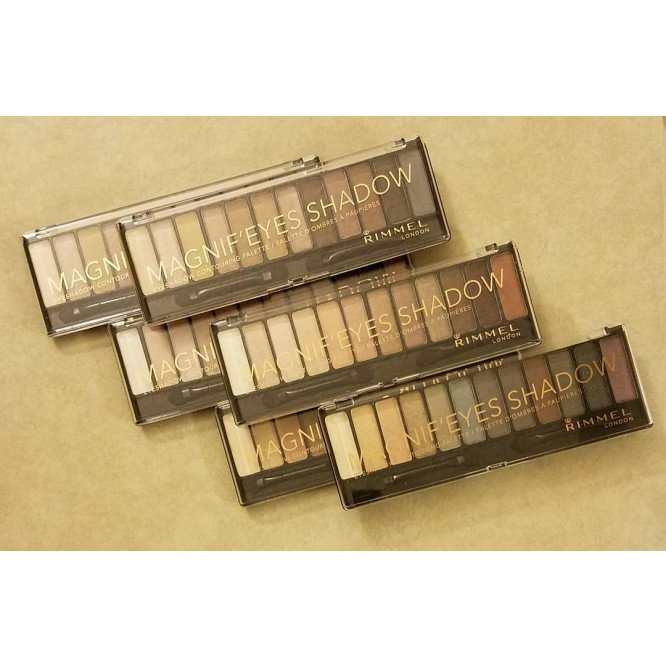 Rimmel eye make-up eye palette magnif'eyes keep calm & wear gold