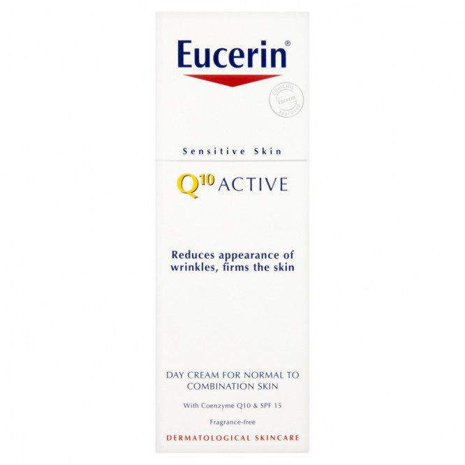 Eucerin Q10 Active A/W Day Cream 50ml SPF15