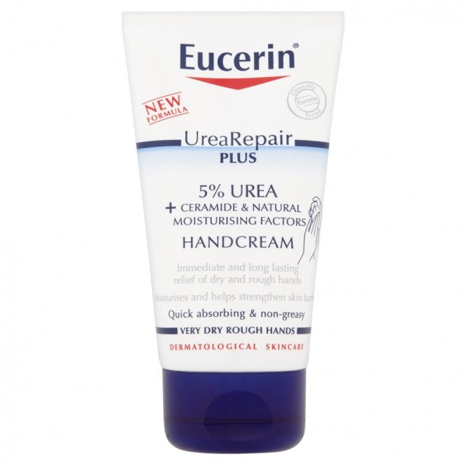 Eucerin Urea Repair Plus, 5% Urea Hand Cream, 75 ml