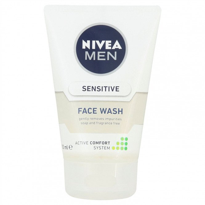 Nivea bathcare sensitive face wash 100ml