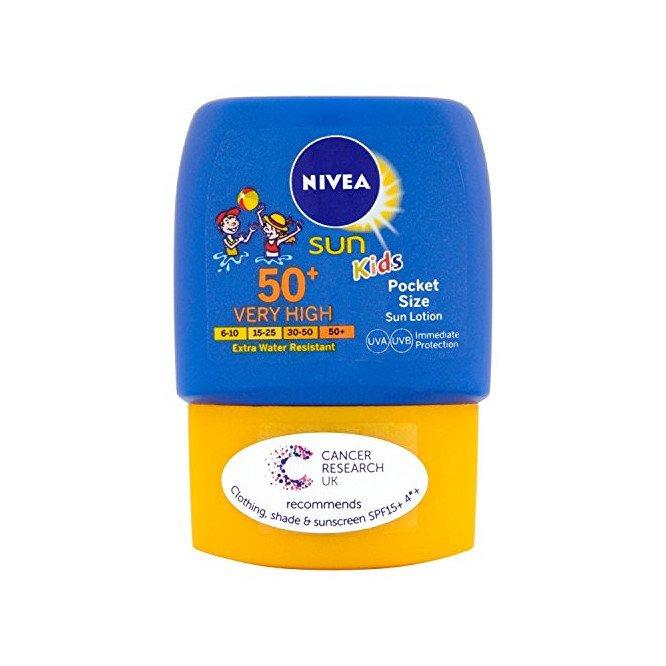 NIVEA SUN childrens pocket size spf50 50