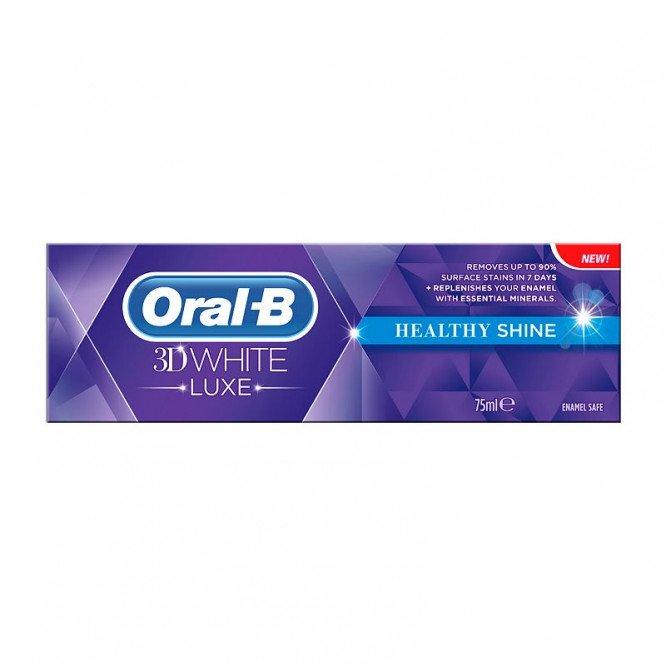 Oral-b toothpaste 3D white healthy shine 75ml