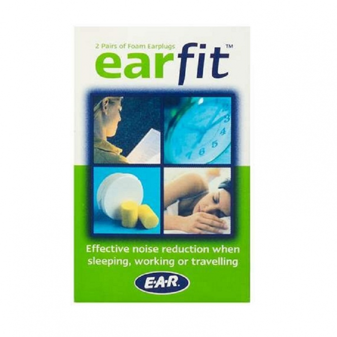Earfit ear plugs 2 pack