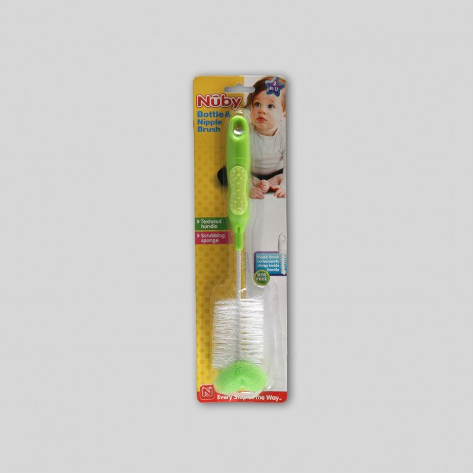 NUBY BOTTLE & TEAT BRUSH