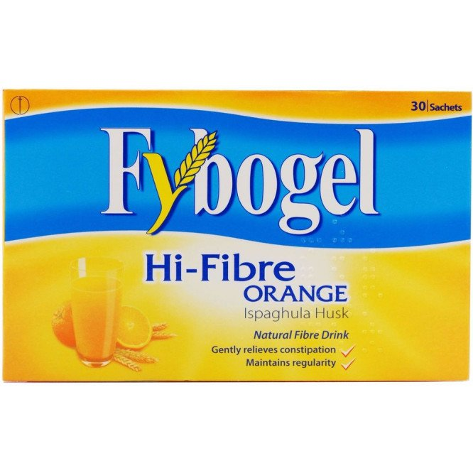 FYBOGEL HI-FIBRE sachets orange 30