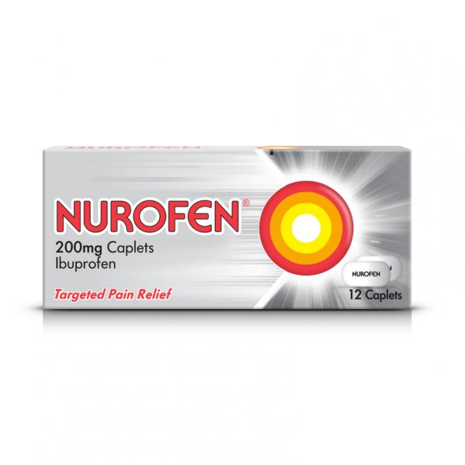NUROFEN CAPLETS 12