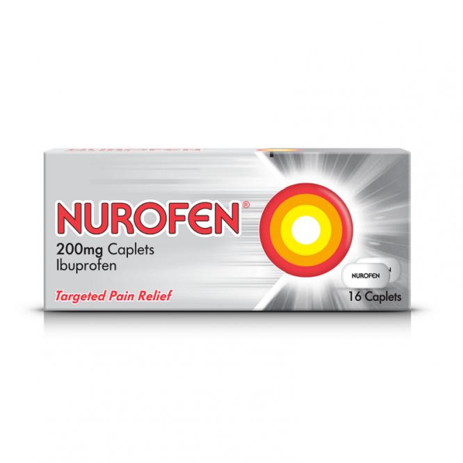 NUROFEN CAPS 200MG 16