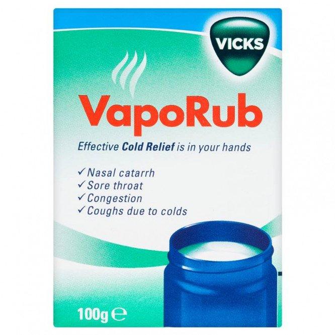 Vicks vaporub 100g