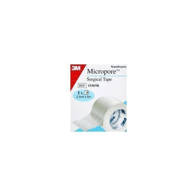 Micropore surgical tape 2.50cm x 5m