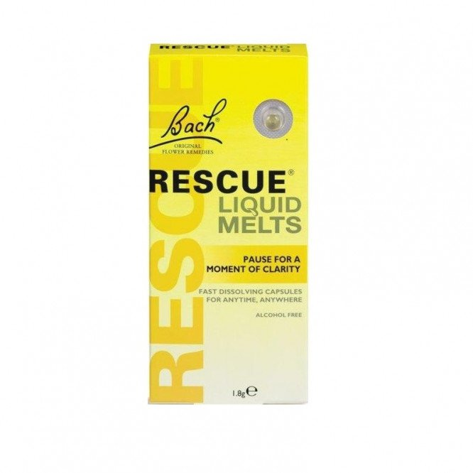 Rescue remedy liquid melts day capsules 28 pack