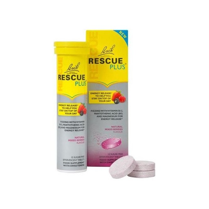 Rescue plus effervescent tablets 15 pack