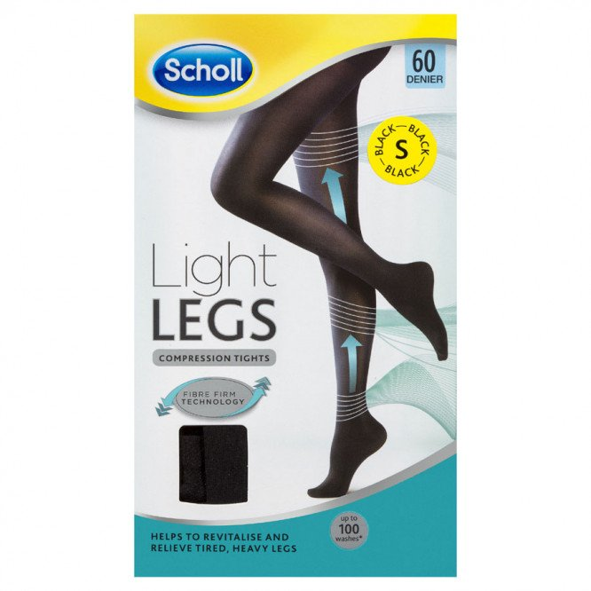 Scholl Light Legs 60 denier black small