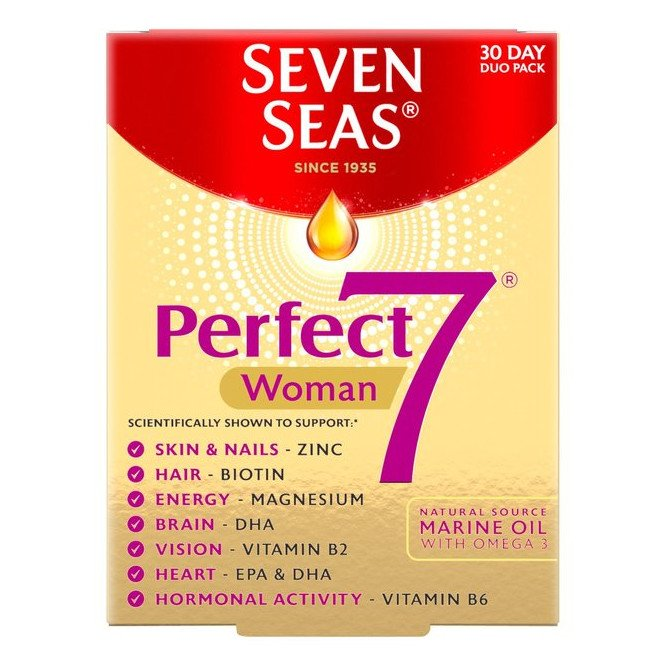Seven seas perfect 7 woman  30 pack