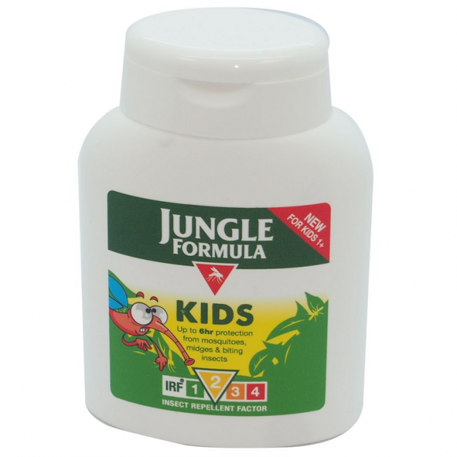 Jungle formula insect repellent kids lotion 125ml