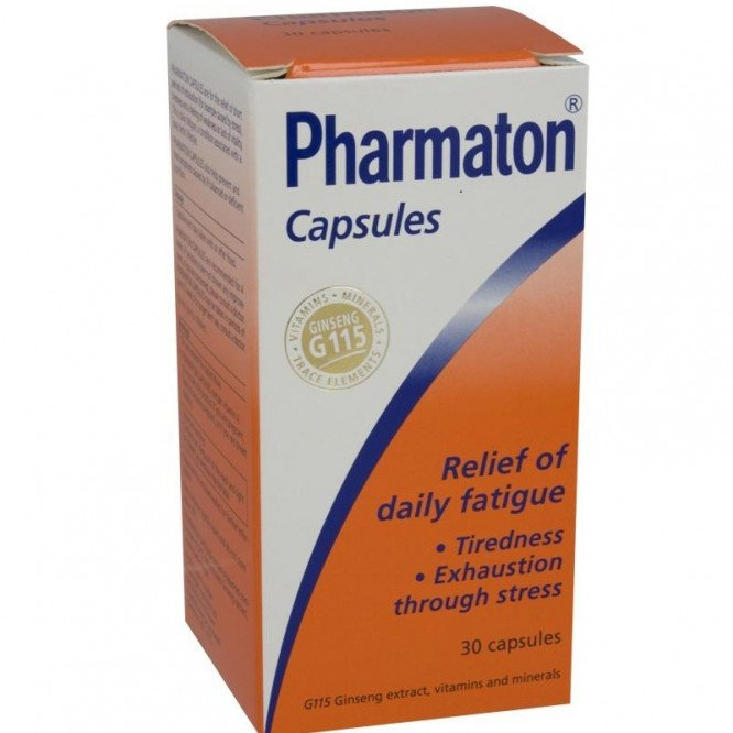 Pharmaton capsules 30 pack