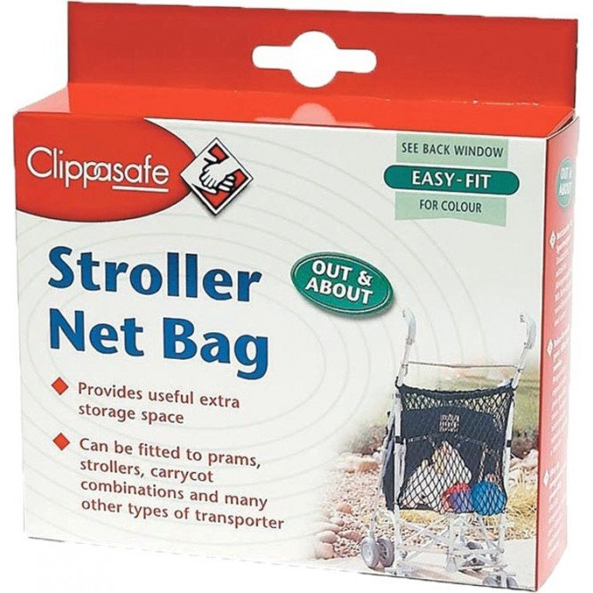 CLIPPASAFE STROLLER NET BAG