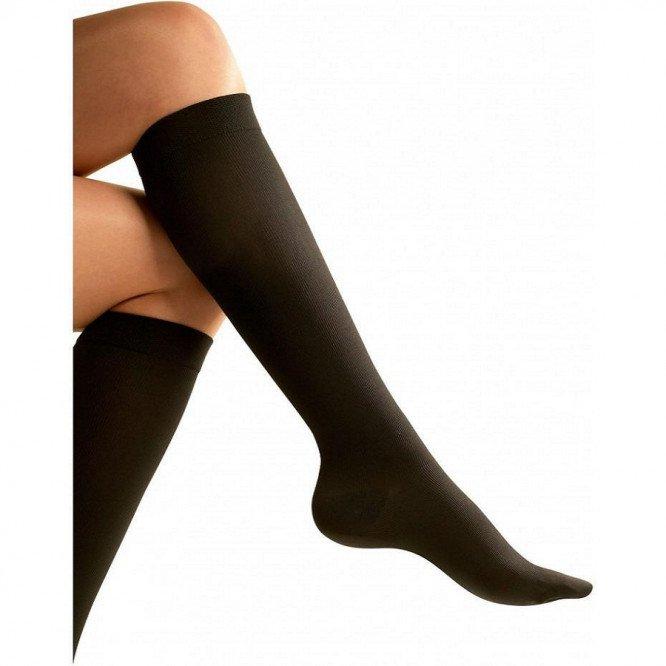 Go Travel Flight Socks Black (S)