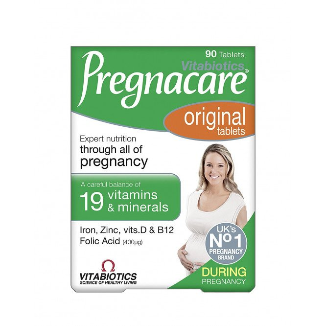 Pregnacare tablets 400mcg 90 pack