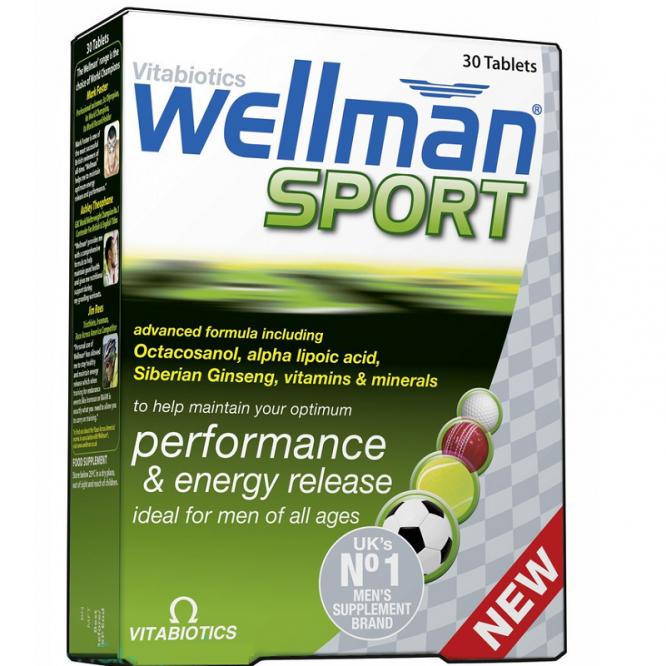 Wellman sport tablets 30