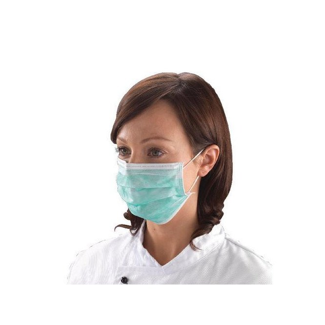 DISPOSABLE FACE MASK - LOOPED X 50