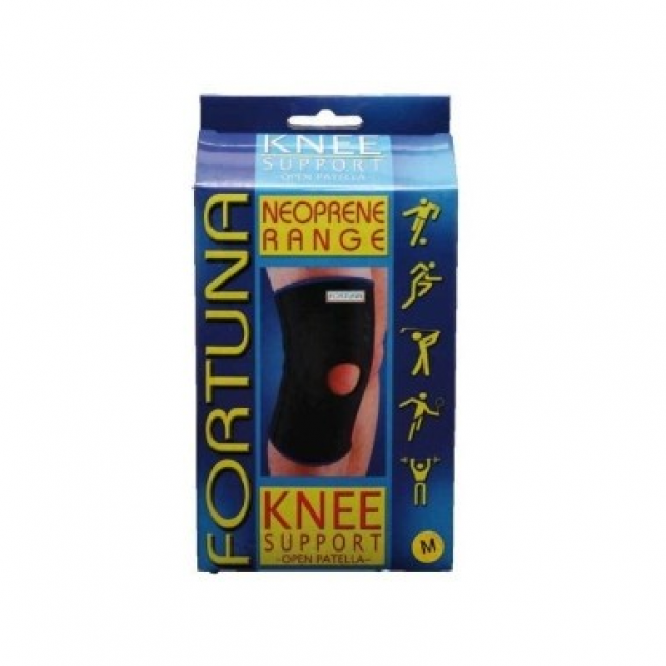 Fortuna Disabled Aids supports neoprene supports knee support open patella open patella medium