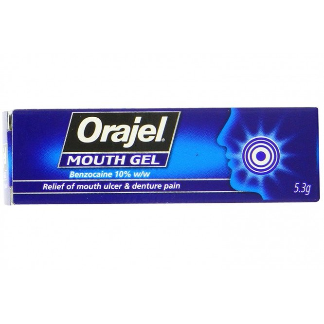 Orajel mouth gel gel 5.3g