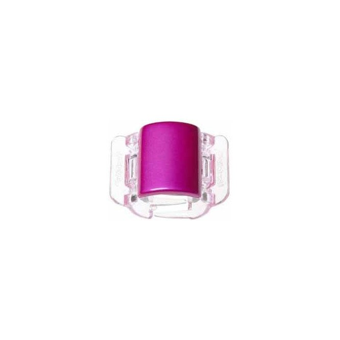 LINZICLIP HOT PINK PEARLISED MIDI CLAMP