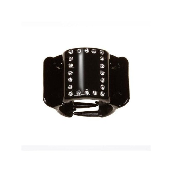 LINZICLIP DIAMANTE BLACK MIDI