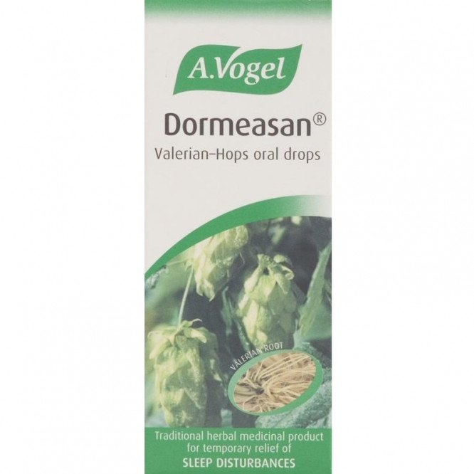 A.vogel combined herbal preparations dormeasan valerian-hops oral drops 50ml