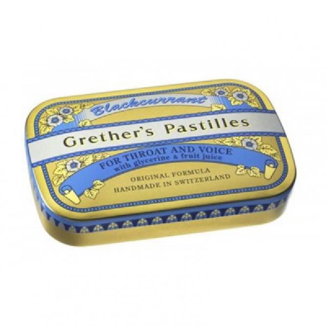 Grether's fruit pastilles blackcurrant 60g
